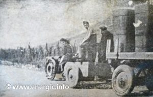 Energic C7 B4L towing during the war www.energic.info