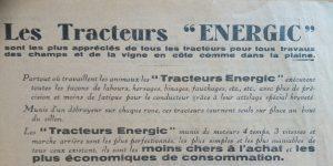 Energic tracteur/motoculteur info, www.energic.info