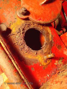 Energic motoculteur Pont inspection hole water damage www.energic.info
