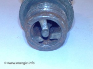 Energic motoculteur spark plug from B5, C7 & D9 www.energic.info