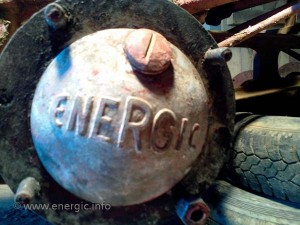 Energic motoculteur Later type cast aluminium wheel hubs www.energic.info