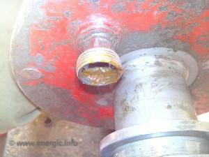 Energic motoculteur grease cup dispenser wheel hub www.energic.info