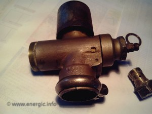 Energic motoculteur Carburator water damage www.energic.info