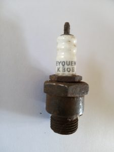 Energic motoculteure old spark plugs www.energic.info