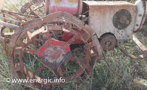Energic motoculteur C7 B4L altered wheels www.energic.info