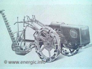 Energic motoculteur C7 B4L grass/hay cutter www.energic.info