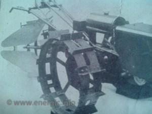 Energic motoculteur Metal jumule wheels www.energic.info