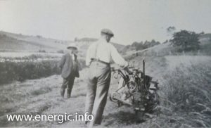 Energic motoculteur C7 B4L grass/hay cutting www.energic.info