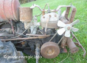 Energic motoculteur C7 courtasy Karl Puhl donated to a museum www.energic.info