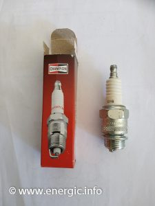 Energic motoculteur spark plug wider type 18mm diameter www.energic.info
