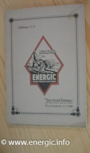 Energic brochures last in 1938/39 www.energic.info