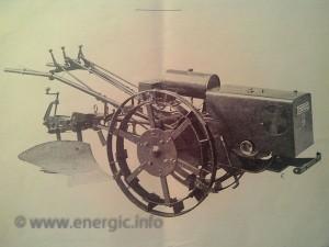 Energic motoculteur C7 B4l showing early fuel tank www.energic.info