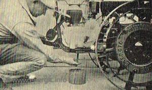Energic motoculteur oil change www.energic,info