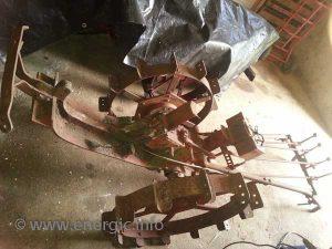 Energic motculteur C7 B4L chassis stripped www.energic.info