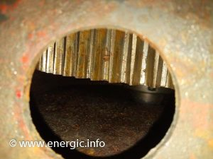 Energic motoculteur Wheel gear water damage www.energic.info