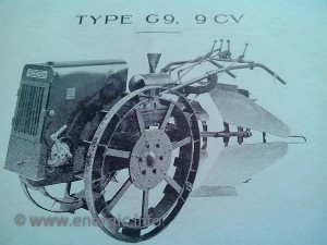 Energic G9 motoculteur