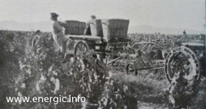 Energic B5 bringing in the vine harvest www.energic.info