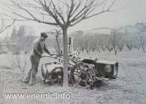 Energic motoculteur C7 B4L reservoir for spray www.energic.info