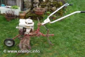 Energic motoculteur Rubis Briggs & Straton 5cv www.energic.info