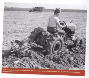 Early Energic tracteur 509 prototype trials driven by Mr A Patissier (photo courtesy of Karl Phul).