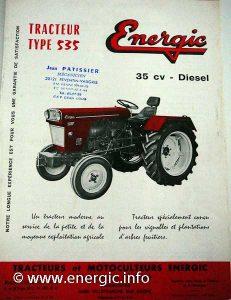 Energic tracteur 535 35cv diesel www.enegic.info