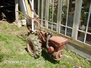 Energic 120 motoculteur type g motor bernard 231A www.energic.info
