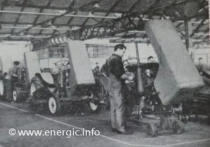 Energic Tracteur assembly line Energic 519 tracteur petrol www.energic.info