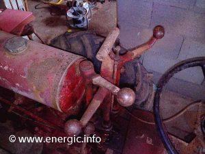 Energic mototracteur 712 petrol controls www.energic.info