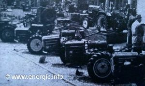 Energic stand at tracteur & motoculteur fair early 1960,s. www.energic.info