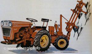 Energic 4RM12 tracteur Sachs diesel www.energic.info