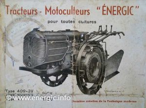 The New Energic motoculteur 409 www.energic.info