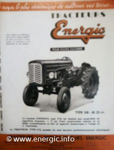 Energic tracteur 518 (203 moteur) petrol www.energic.info