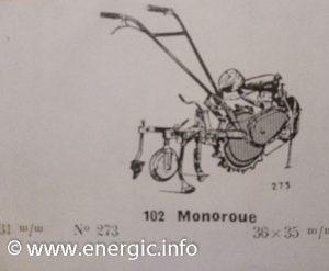 Energic 102 motoculteur Mono roue www.energic.info