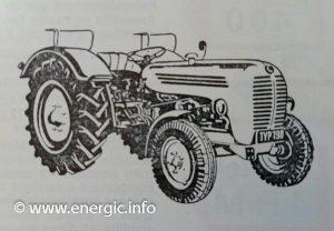 Energic 540 Tracteur (38.5cv 1960) models Fermier and Vigneron. www.energic.info