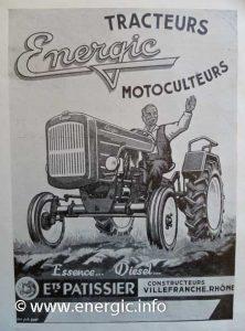 Energic brochure tracteur 519 www.energic.info