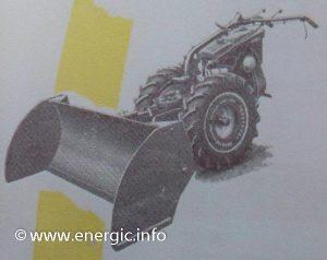 Energic 220 motoculteur with rear scraper www.energic.info