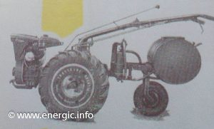 Energic 220 motoculteur with Sprayer www.energic.info
