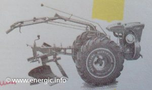 Energic 220 motoculteur with plough www.energic.info