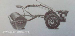 Energic 220 motoculteur rear roller www.energic.info