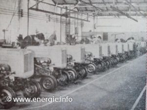 Energic tracteurs production line or 511 512 models www.energic.info