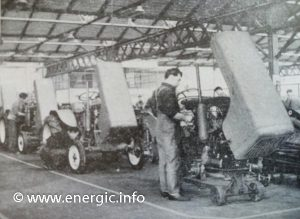 Energic factory production line for the 519 tractors both Diesel Petrol www.energic.info
