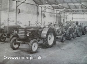 Energic tracteurs production line for 525 models www.energic.info