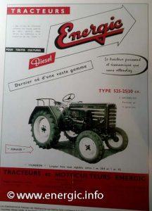 Energic tracteur 525 diesel www.energic.info