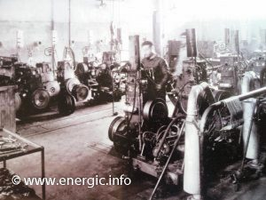 Factory Cérès 1950 production engines www.energic.info