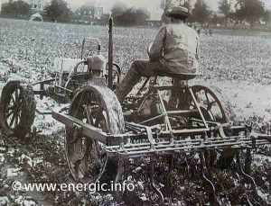 A Binuse on a Pruvot-Candas automobile Cérès. moteur www.energic.info