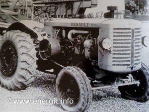 Renault tracteur DK-30 Cérès engine www.energic.info