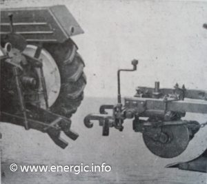 nergic patented attachment procedure for implements on the Dynabloc lift/revelage www.energic.info