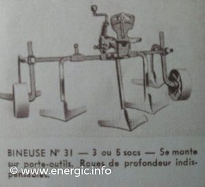 Energic motoculteur attachments - Binuese No 31 www.energic.info