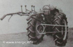 Energic 409 motoculteur 9cv PTO frontal www.energic.info