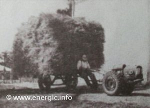 Energic motoculteur 409 Pulling hay www.energic.info